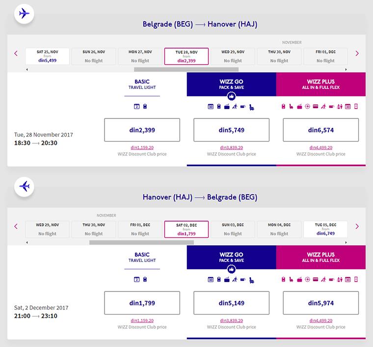 avionska karta do nemacke HANOVER – 35€ POVRATNA AVIO KARTA – Jeftino Putuj avionska karta do nemacke