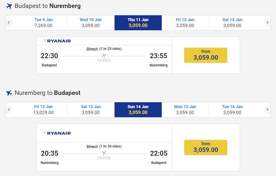 avionska karta do nemacke NIRNBERG – 20€ POVRATNA AVIO KARTA – Jeftino Putuj avionska karta do nemacke