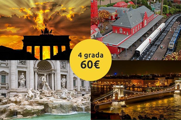 Avio Karta Berlin.Berlin Bilund Rim Budimpesta Kruzno Putovanje 60 Povratne