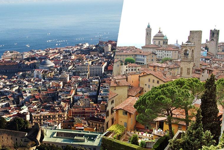 Milano Bergamo I Napulj 60 Povratne Avio Karte Jeftino Putuj
